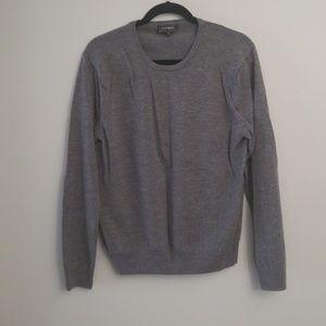 Express grey womens sweater size XL